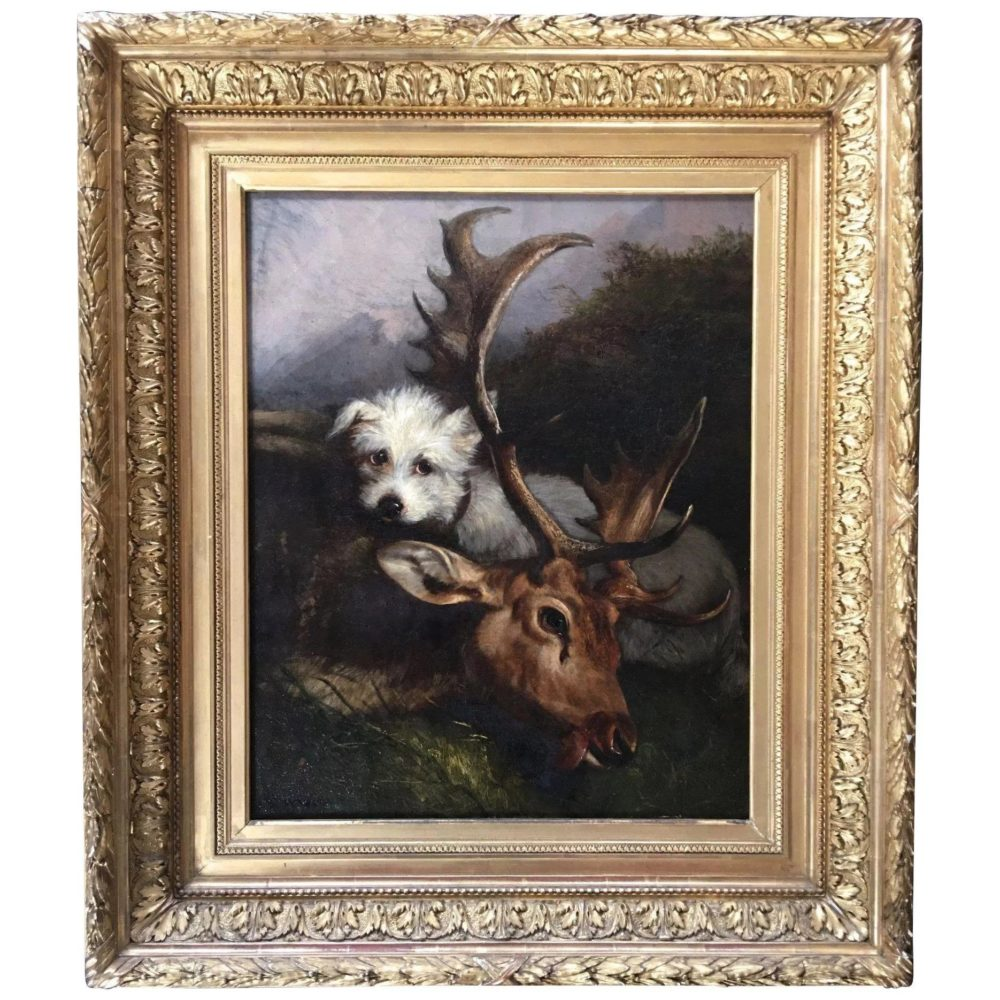 Antique-oil-canvas-hunting-scene-dog-full-0-2048x2-185