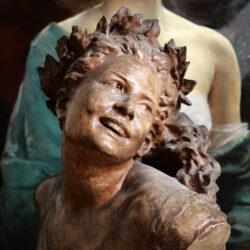 Terracotta bust by Jean-Baptiste Carpeaux