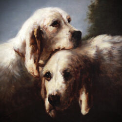 French hunting dogs by Jules chardigny Monartsgallery