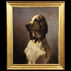 Hunting dog French school Monartsgallery