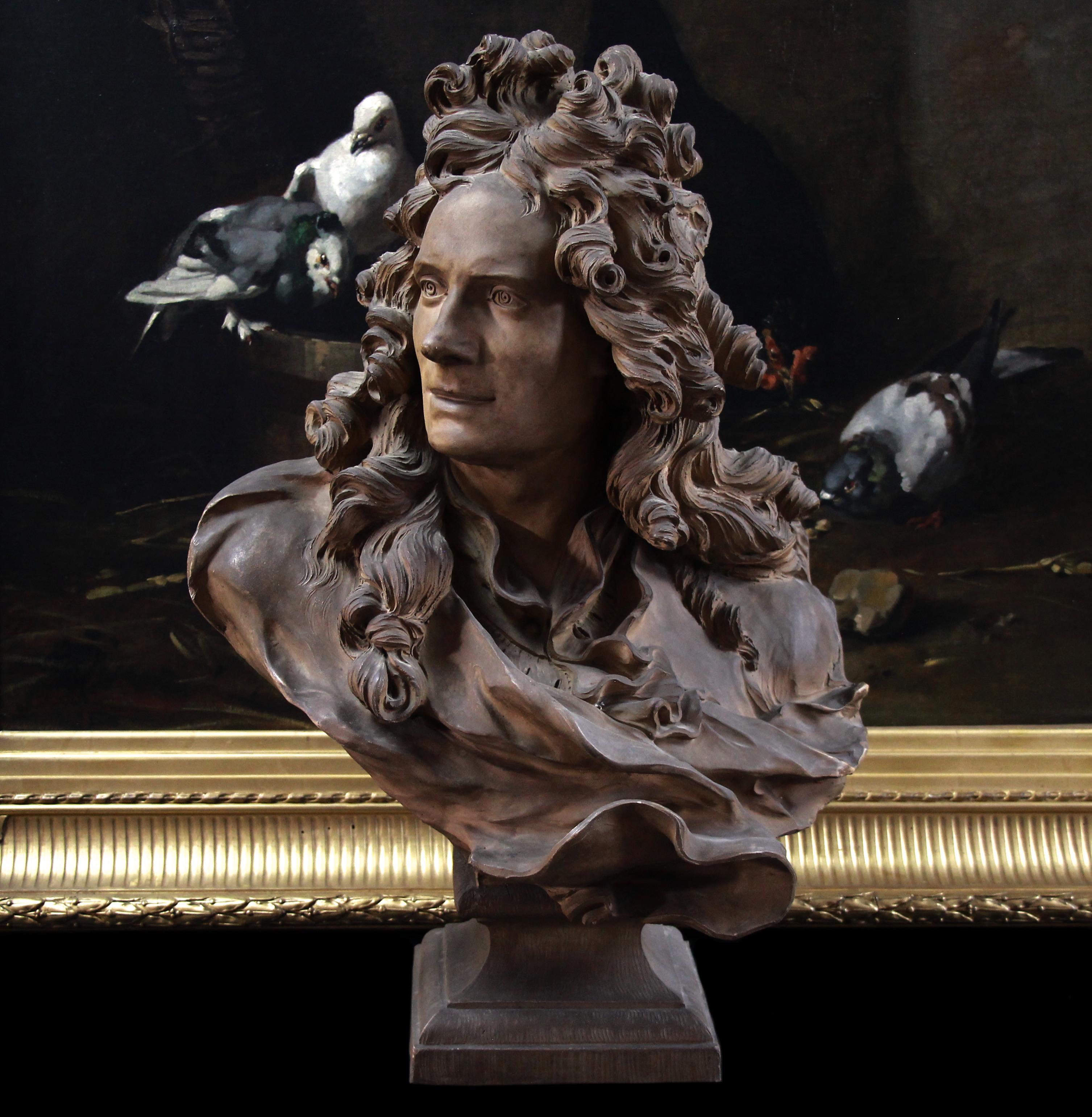 Terracotta bust Corneille van cleve