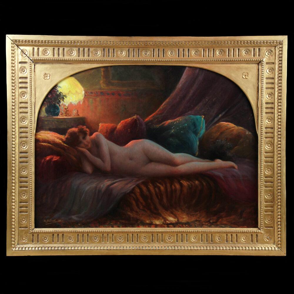 boudoir scene nude Monarts Gallery