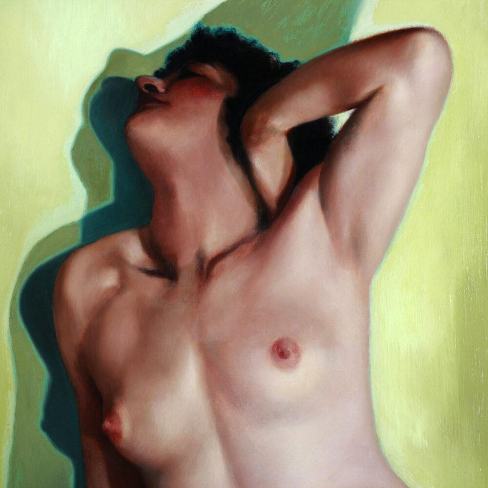 Vintage nude by Jacques Van Rooten