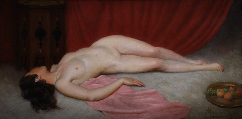 Maurice Briard Nu Orientaliste Monarts Gallery