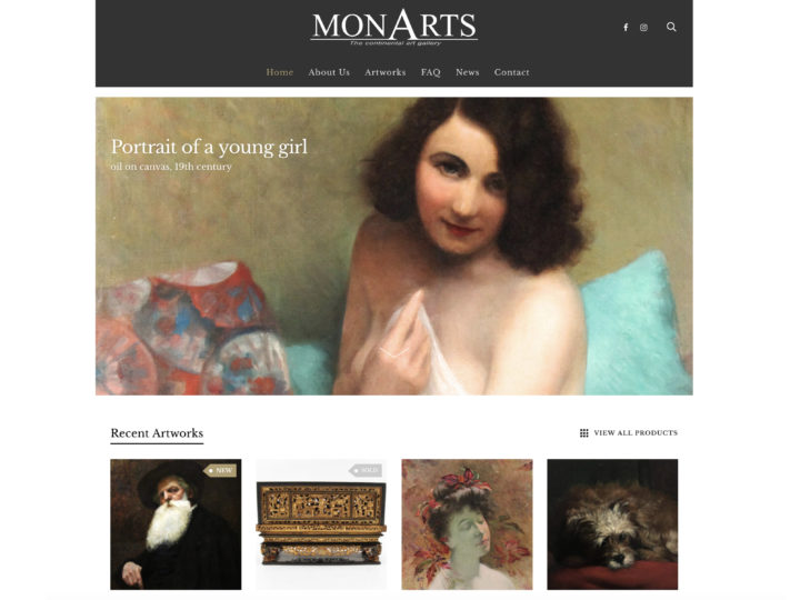 Welcome to the new Monarts website !