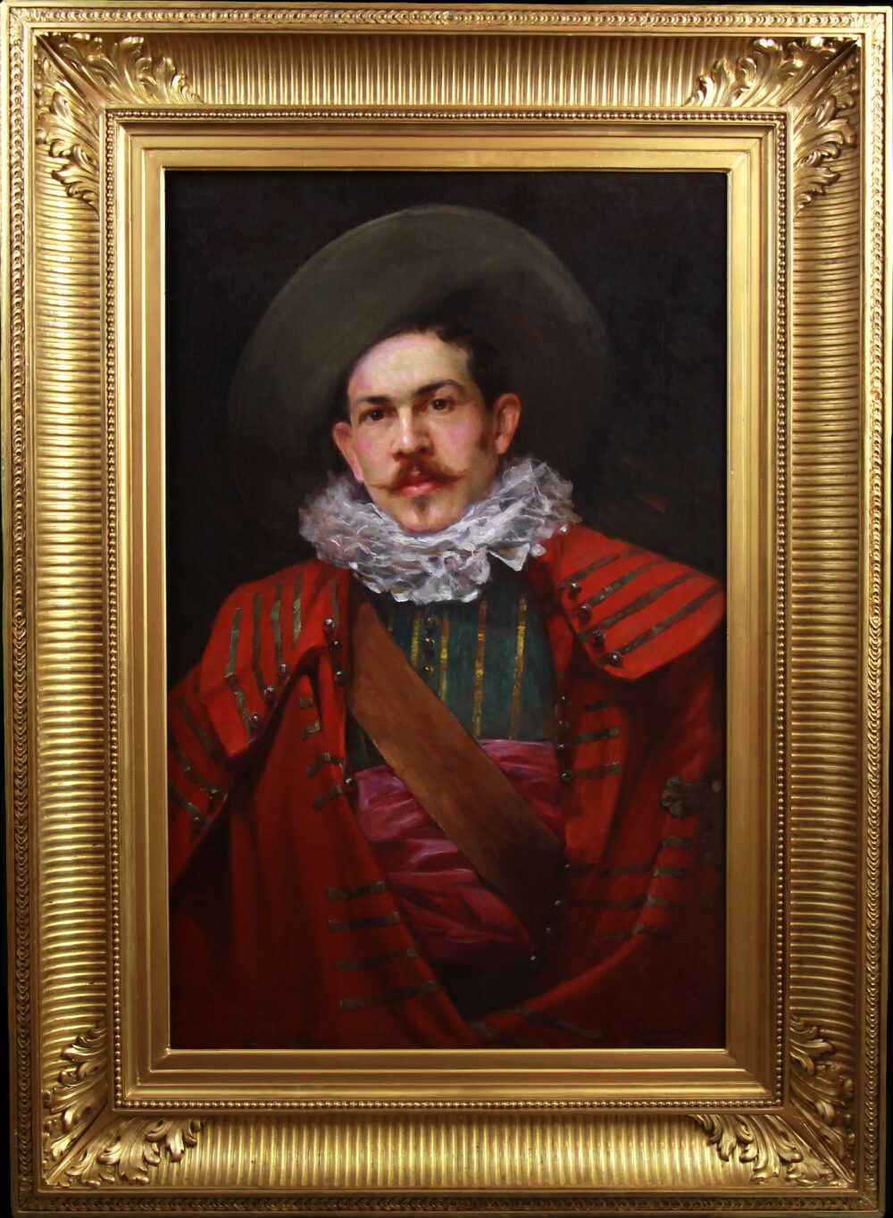 portrait of a musketeer by Monartsgallery