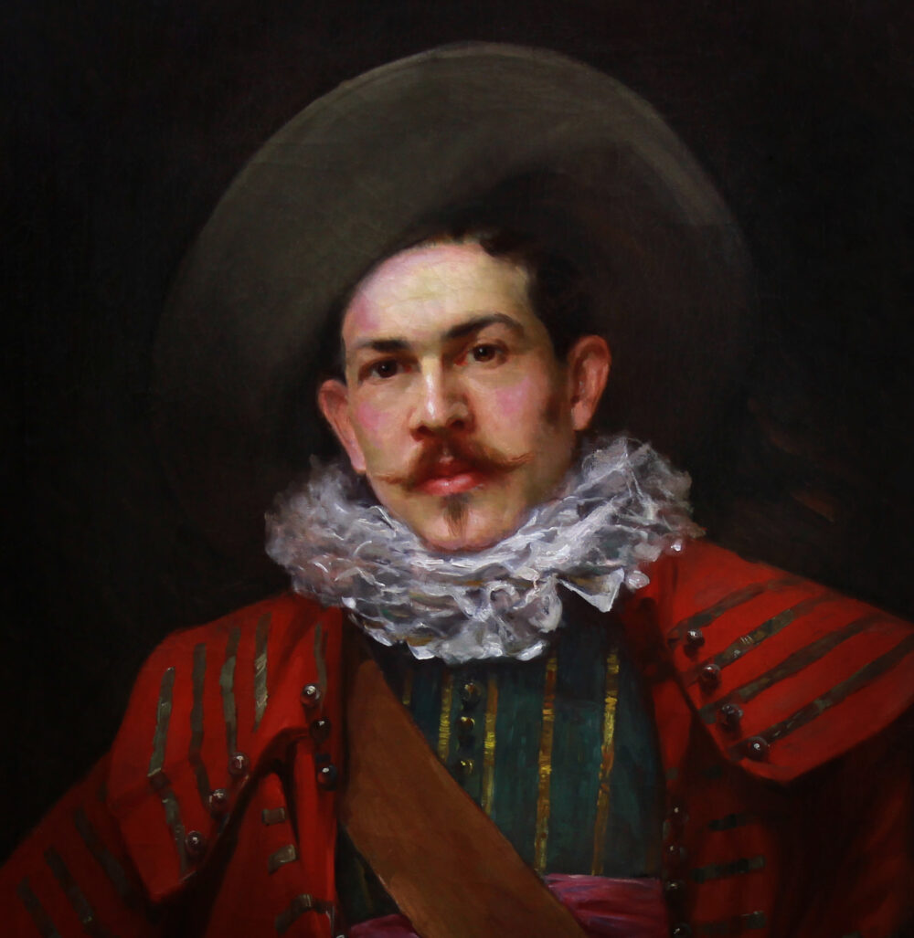 portrait of a musketeer by Monartsgallery 2